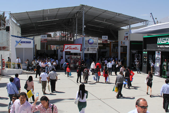 Participación en feria minera PERUMIN | Participation in the PERUMIN mining fair