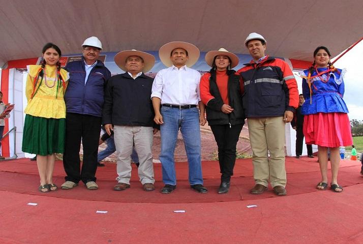 Inauguración de la carretera Encañada - Celendín | Inauguration of the Encañada-Celendín road