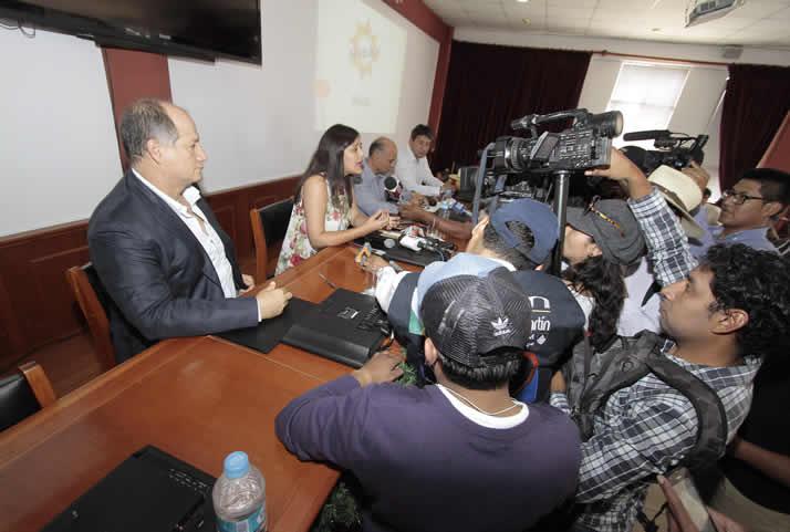 Conferencia de prensa. | Press conference