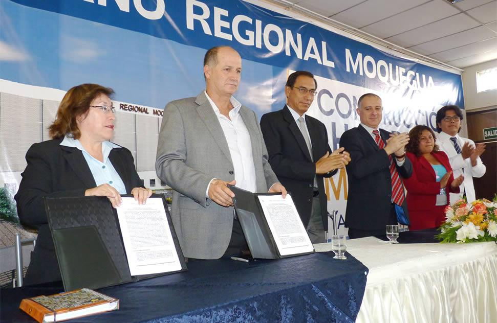 ICCGSA was awarded the bid for the construction of the Moquegua Hospital