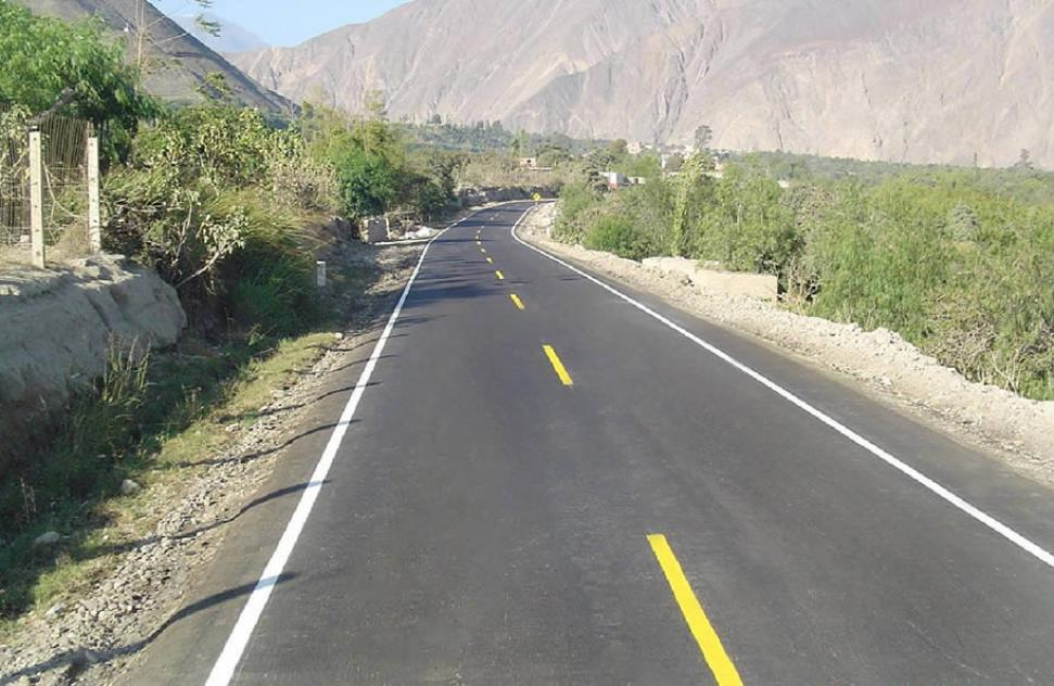 ICCGSA was awarded the contract to manage and maintain the road corridor of Cañete – Lunahuana – Dv. Pampas
