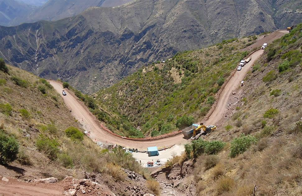 Carretera Cusco – Las Bambas