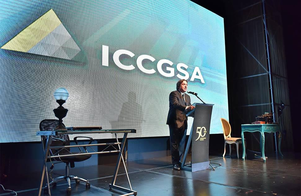 ICCGSA celebrates 50 years and introduces new visual identity