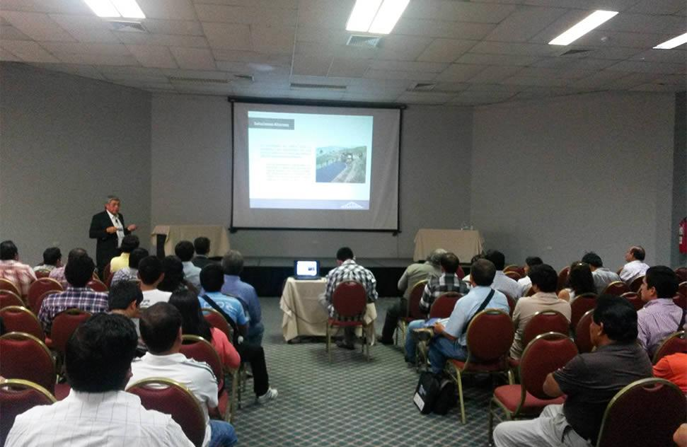 ICCGSA present at the First North Road Infrastructure Conference 2014 (I Congreso de Infraestructura Vial Norte 2014)