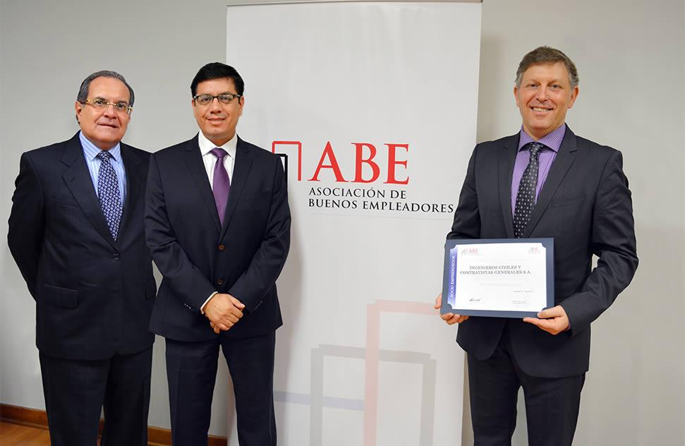 ICCGSA certified by the AMCHAM Good Employers Association