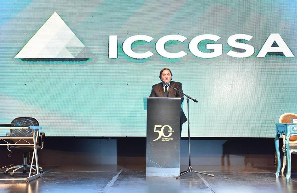 ICCGSA new image presented in celebration of its 50th anniversary