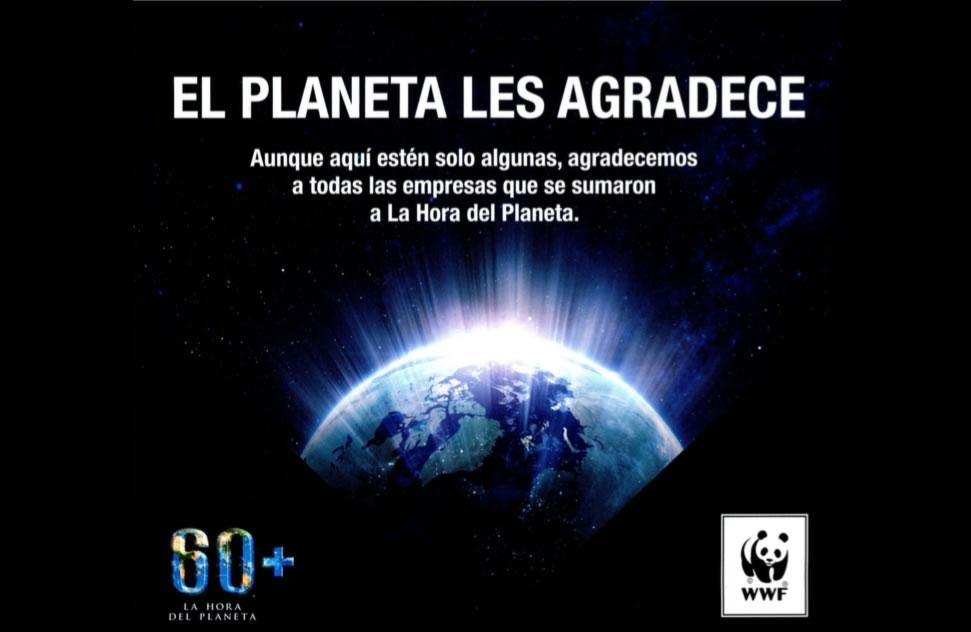 Thanks WWF - Planet Time