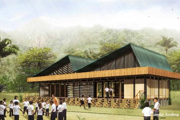 ICCGSA gana buena pro para la implementación de 84 Kits de infraestructura para 10 colegios de la Selva
