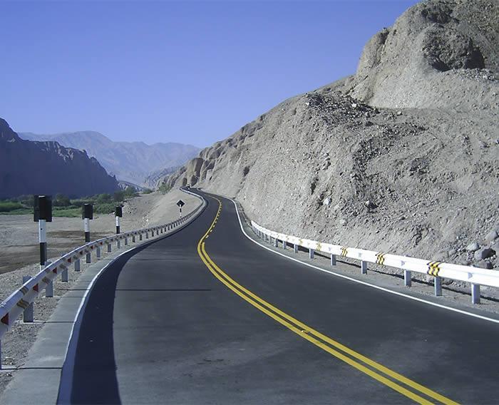 Carretera Ilabaya - Tacna