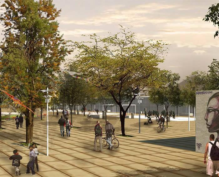Construcción del Parque Zonal Flor de Amancaes