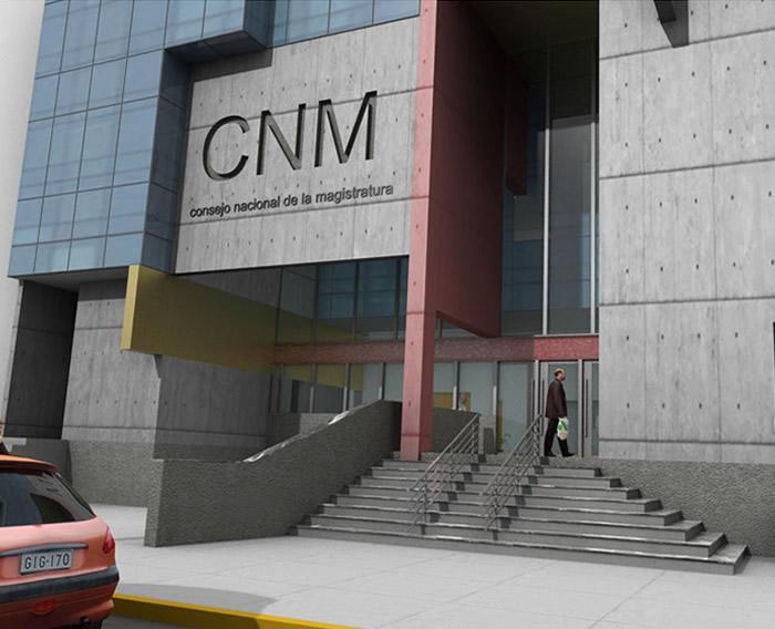 Construcción del nuevo edificio del Consejo Nacional de la Magistratura