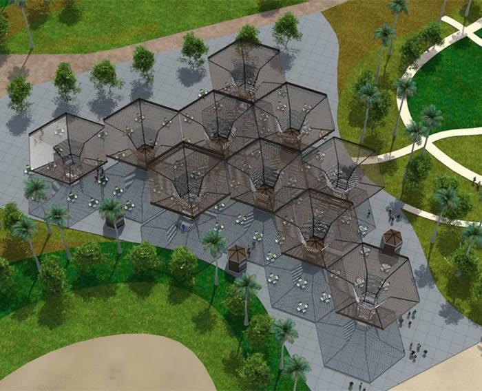 Construcción del Parque Zonal Santa Rosa