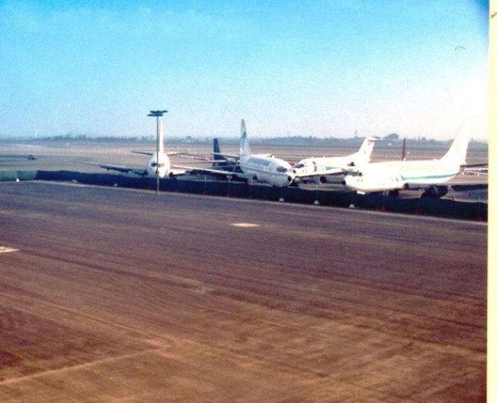 Zona de Parqueo de Aviones (Área 6) Aeropuerto Internacional Jorge Chávez