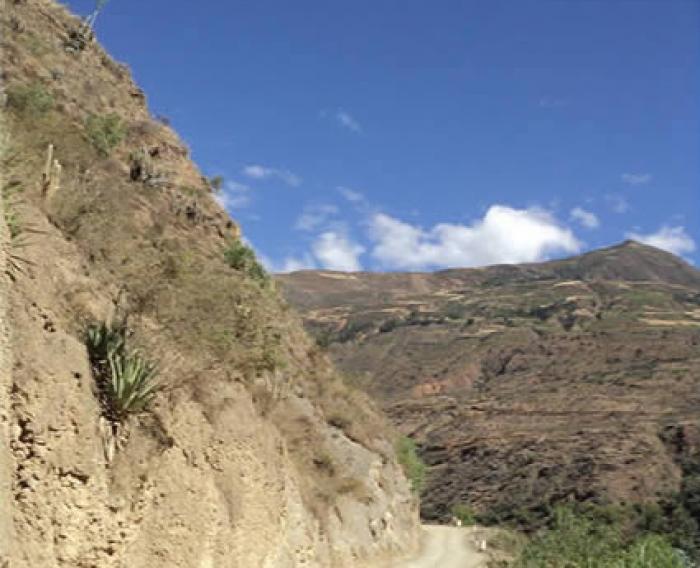 Carretera Huaura - Ambo