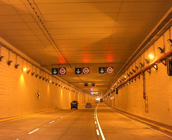 Construcción del Túnel de la Av. Néstor Gambetta