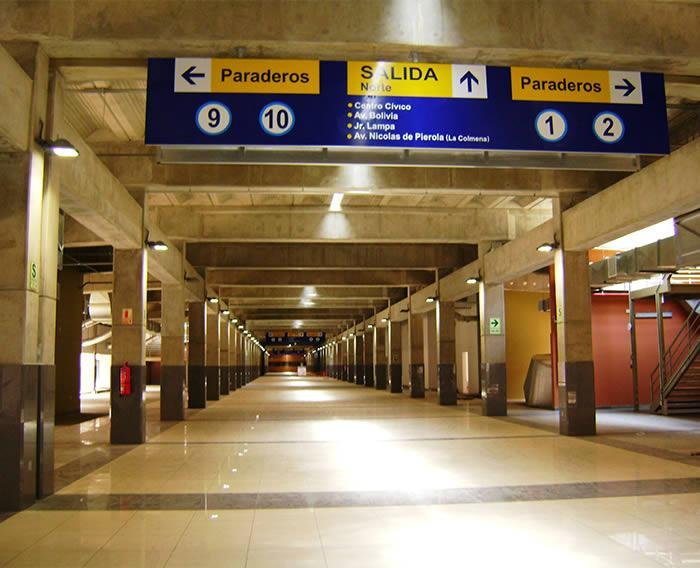 Estación Central del Metropolitano
