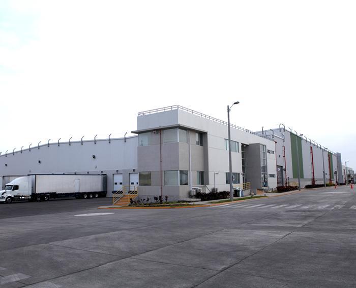 Construcción de la nueva planta industrial de PROTISA
